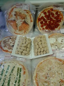 Pizzes i minicroquetes